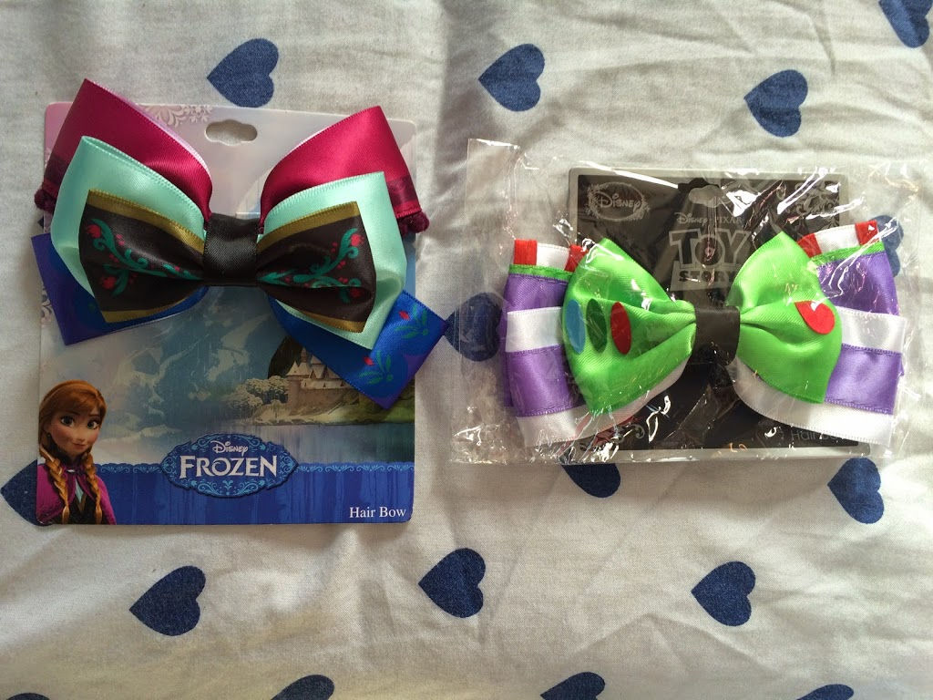 You Might Remember In Both My Last Posts There Were Hair Bows For Megan And Lily This Haul Was Exactly The Same With An Anna Bow A Buzz